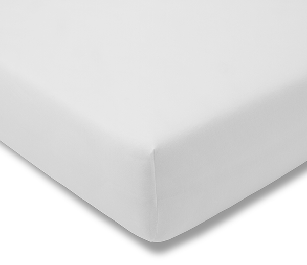 F Bed More Fitted Sheet Feinjersey, How Big Is A Double Bed Sheet In Cm